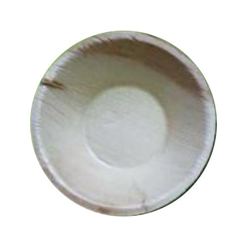 White Areca Leaf Bowl