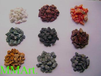 Terrazzo marble chips & Gravel stone