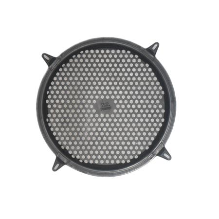 Metal Grill With molded Clip