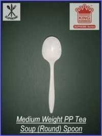 Medium Weight PP Soup Round Spoon