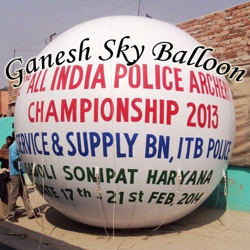 Gas Advertising Balloon