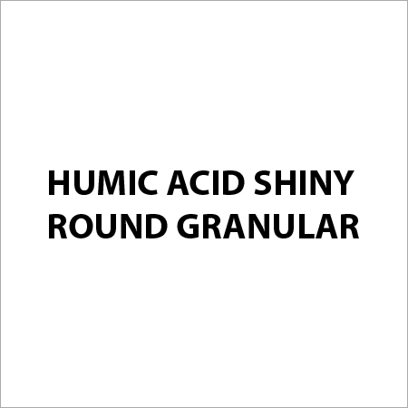 Humic Acid Shiny Round Granular