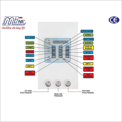 Medical Gas Control Panel