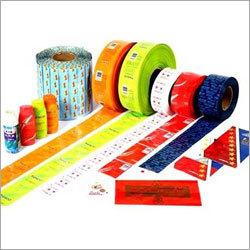 PVC Shrink Multicolor Label