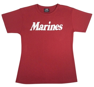 Printed Ladies Round Neck T Shirt