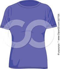 Purple Ladies T Shirt