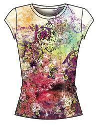 ladies sublimation t shirts