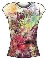 ladies sublimation t shirts