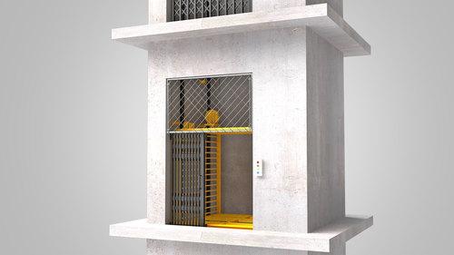 Electric Cage Hoist