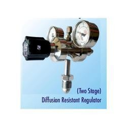 Two Stage Diffusion Resistant Regulator