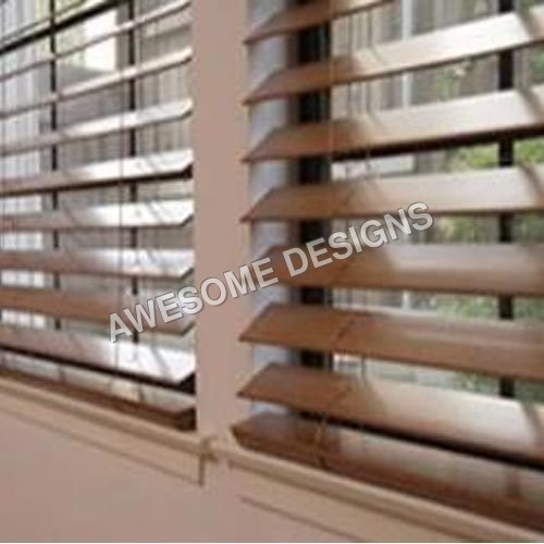 Laminated Wooden Blinds