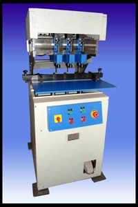 Six Hole Paper Drilling Machine