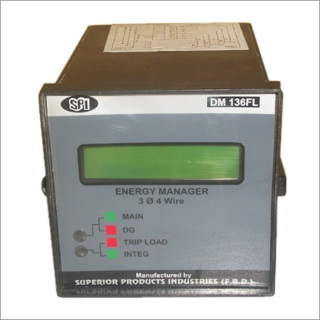 3 Phase 4 Wire Energy Meter