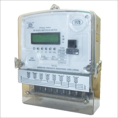 Three Phase Energy Meter