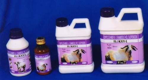 Oxyclozanide 3%W/V & Levamisole 1.5%W/V Suspension