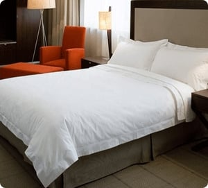 Plain Percale Flat Bed Sheets