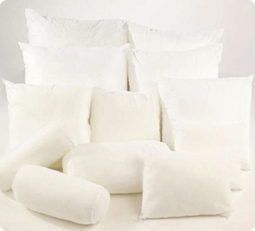 Toss Down Feather Cushion
