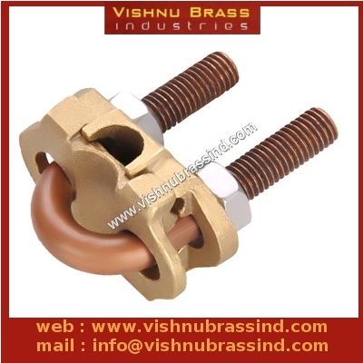 Brass U Bolt Rod Clamp