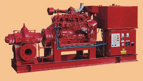 Diesel Engine Fire Fighting Pumpset