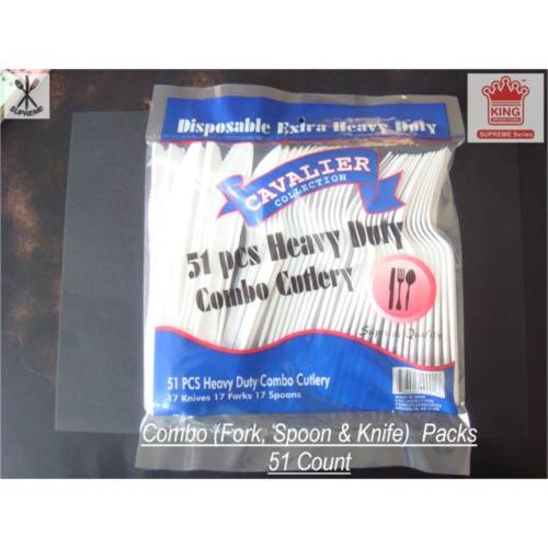 Medium Weight PS Bagged Cutlery