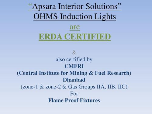 ERDA Certified