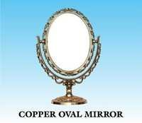 EWI COPPER OVAL MIRROR