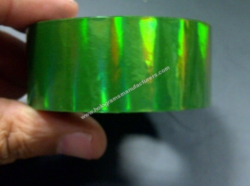 Holographic Self Adhesive Tapes (Rainbow Green)
