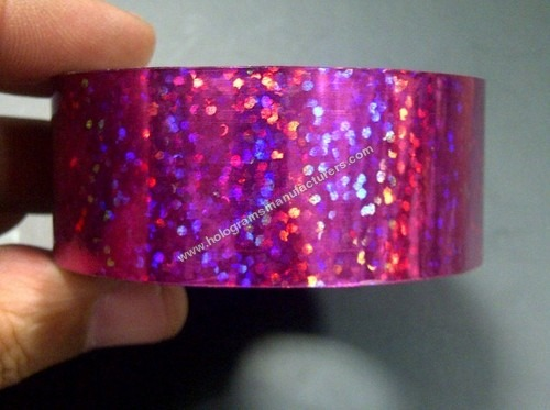 Holographic Tapes (Sequins Fuschia)