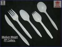 Medium Weight PP Cutlery