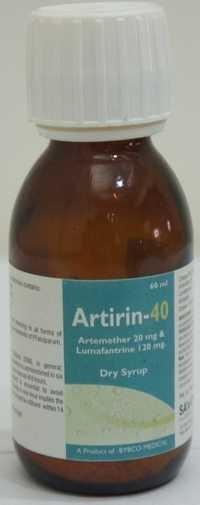 Lumafantrine Dry syrup