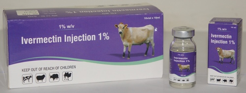 IVERMECTIN INJECTION 1% 10 ml