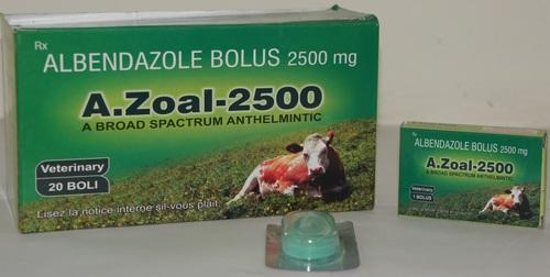 Albendazole Bolus 2500 mg