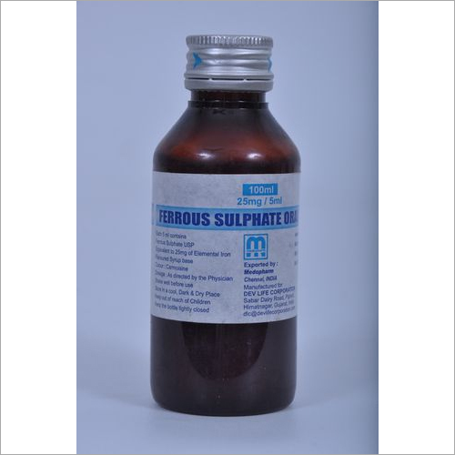 Ferrous Sulphate Syrup