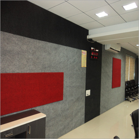 Fibre Glass Wool Acoustic Panels