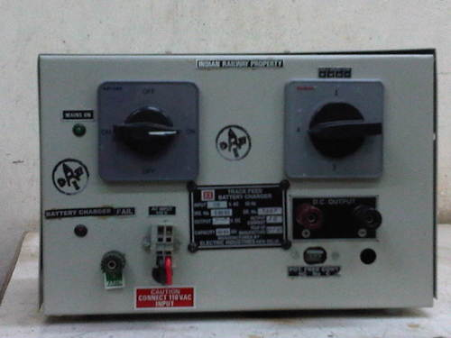 TRACKFEED BATTERY CHARGER AS PER IRS-S-89_93 AMNDT 2