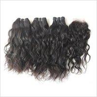 Raw Unprocessed wavy Temple Hair