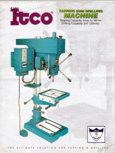 ITCO Drilling cum Tapping Machine 20 mm