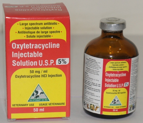 OXYTETRACYCLIN INJECTABLE SOLUTION 5% 50 ML
