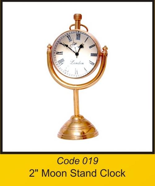 OTC 2'' Moon Stand Clock 2''
