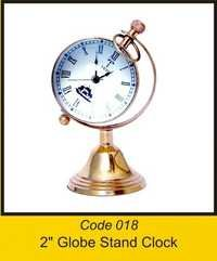 OTC 018 2'' Globe Stand Clock