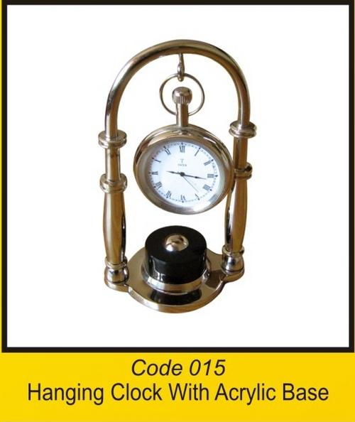 OTC 015 Hanging Clock With Acrylic Base .