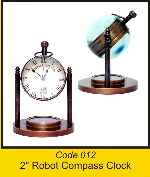 OTC 012 2'' Robot Compass Clock
