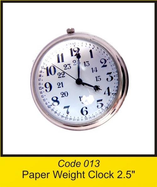 OTC 013 2'' Paper Weight Clock 2.5'' .