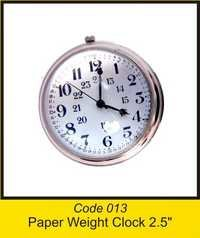 OTC 013 2'' Paper Weight Clock 2.5'' .