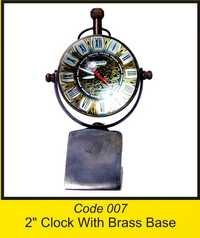 OTC 007 2'' Clock With Brass Base