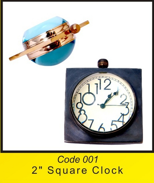 OTC 001 2'' Square Clock .