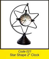OTC 021 Star Shape 2'' Clock