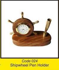 OTC 024 Shipwheel Pen Holder