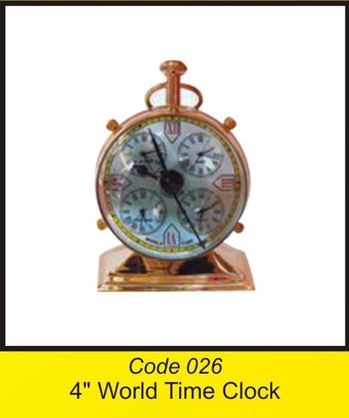 OTC 026 4'' World Time Clock