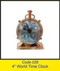 OTC 026 4'' World Time Clock